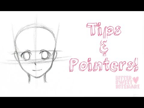 Tutorial: Tips for Drawing A Manga Face