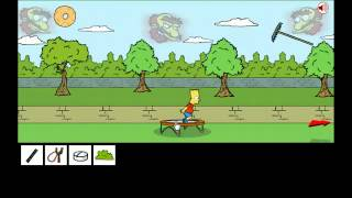Game | Bart Simpson Saw Gam | Bart Simpson Saw Gam