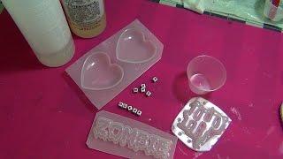 Manualidades con resina