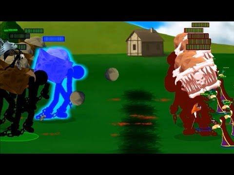 Stick Empires Deathmatch - Battle of the Giants - PersianEmpire vs Yupik1