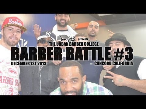Urban Barber College Battle 3 feat Eric Pacinos Rick Morin Dave Diggs Donald DC Conley