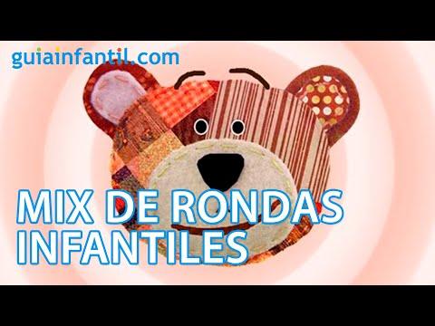 Mix de rondas infantiles - Canta y baila con Traposo