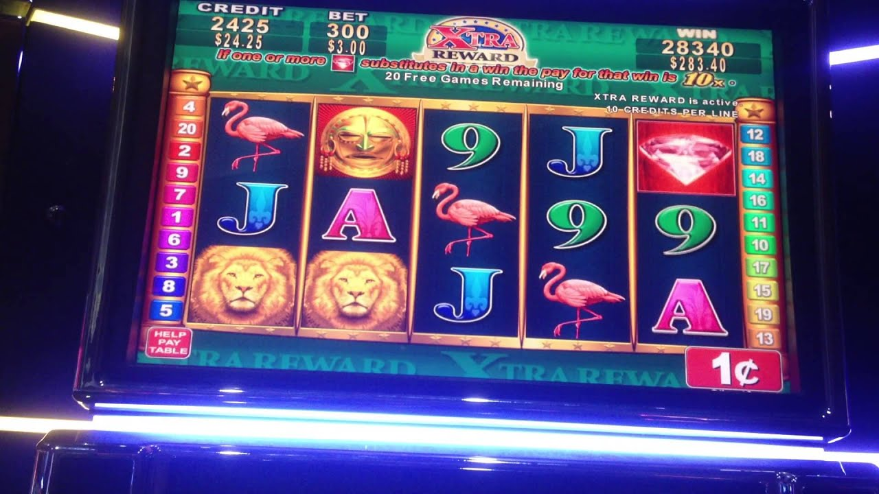 viejas extra rewards slot machines