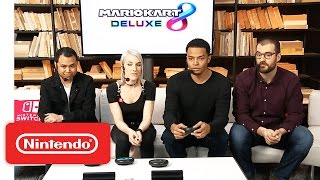 Mario Kart 8 Deluxe – Nintendo Treehouse: Live with Nintendo Switch
