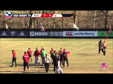 2013 USA Rugby College 7s National Championship: Norwich vs Indiana