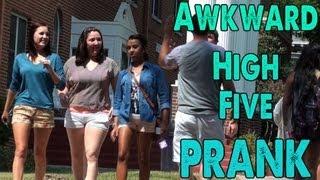 Awkward High Five Prank (No-Not-Youing #1) - Ootini4