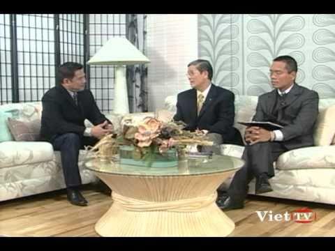 VietTV: Nguyen Uy Long Talkshow voi Muc su Ho Hieu Ha va MS. Phan Phuoc Lanh - phan 1