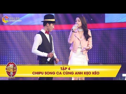 """Giọng ải giọng ai   tập 4: Chi Pu song ca """"ngọt lịm"""" cùng anh chàng bán kẹo kéo"""