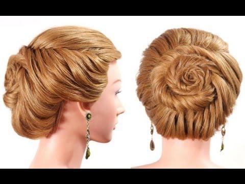 Braid Hairstyles For Long Hair Youtube : Fishtail braid. Hairstyles for long hair. Updo hairstyles - YouTube