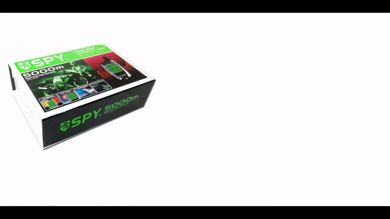 alarme moto spy 5000m. Black Bedroom Furniture Sets. Home Design Ideas