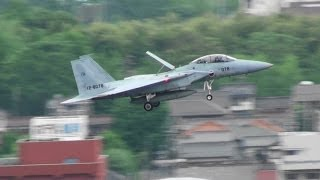 JASDF F-15DJ Makes Touch-and-go At Gifu A.B. (in The