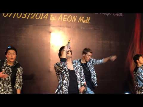 GENERATIONS from EXILE TRIBE in Vietnam 2014.3.7 ( AEON mall ) part 1