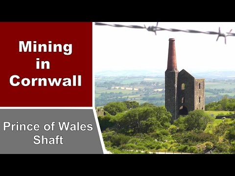 Prince of Wales Engine House at Phoenix United Mine - Narrated - Mining in Cornwall