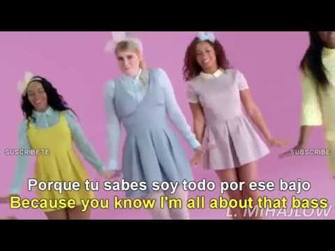 Meghan Trainor - All About That Bass (Lyrics English/Español Subtitulado) Official Video