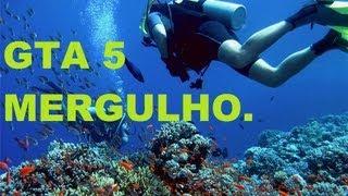 GTA 5 Mergulho+Maleta De Dinheiro Infinita [Português BR