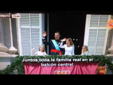 Proclamation of King Felipe VI