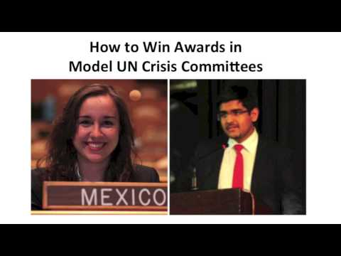 How to Win Awards in Model UN Crisis Committees - Interview with ChoMUN India Secretary-General