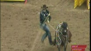 Tie Down Roping - 2013 NFR Round 8