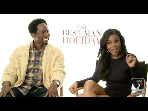 Regina Hall and Harold Perrineau on The Best Man Holiday Interviews