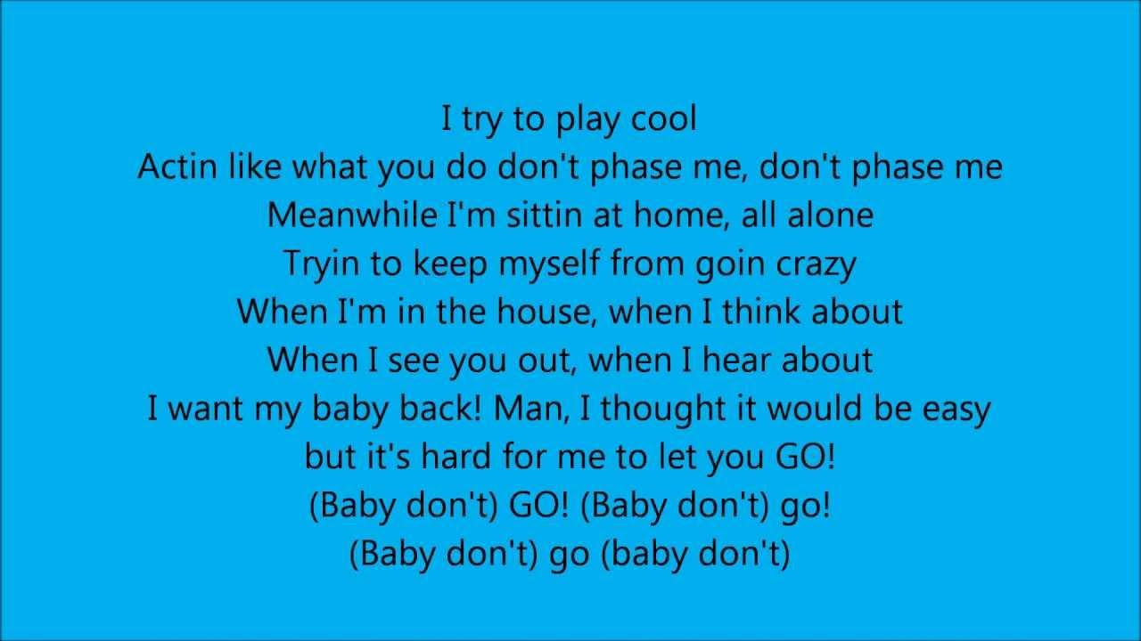 Fabolous ft pain baby don go lyrics