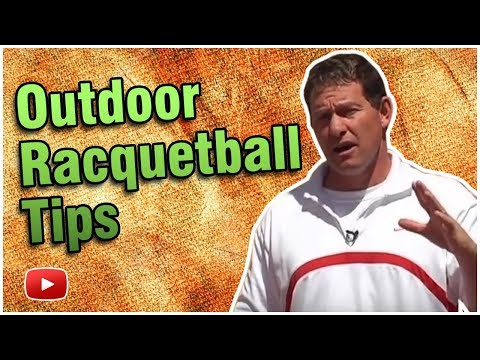 Racquetball - The differences between indoor and outdoor courts - Marty Hogan