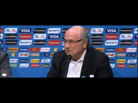 World Cup 2014: Sepp Blatter says he is surprised Lionel Messi won the Golden Ball