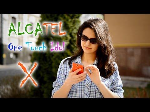 Alcatel One Touch Idol X: обзор смартфона