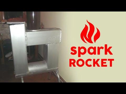 Rocket stove decorative part 2 phim video clip for Decorative rocket stove