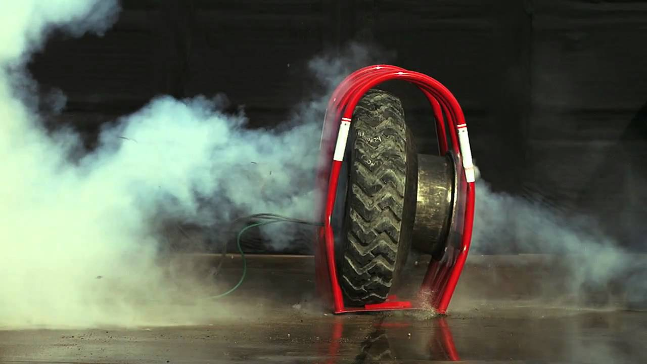 Tire For Less >> Tire Explosion Video.mov - YouTube