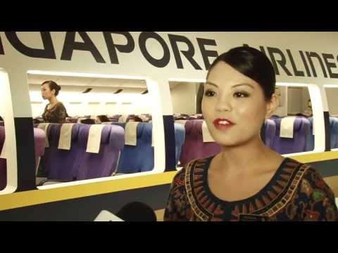 SIA Cabin Crew Training