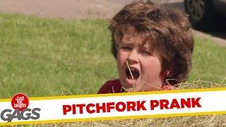 Skrytá kamera - Dieťa pichnuté vidlami
