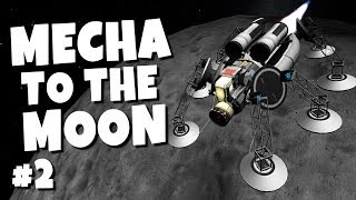 Ksp - Mecha to the Moon #2