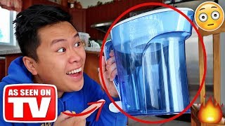 THIS INSTANTLY TURNS ANY LIQUID TO WATER!!!!! (TESTING CRAZY GADGETS)