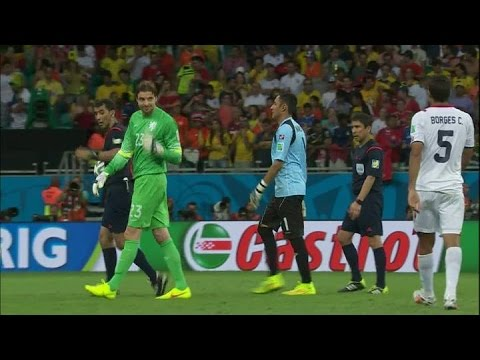 How Borges tricked Krul - Costa Rica-Netherlands penalty shootout