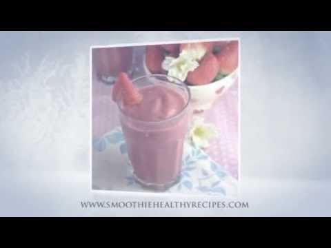 Strawberry Coconut Water Smoothie Recipe - healthy smoothie recipes