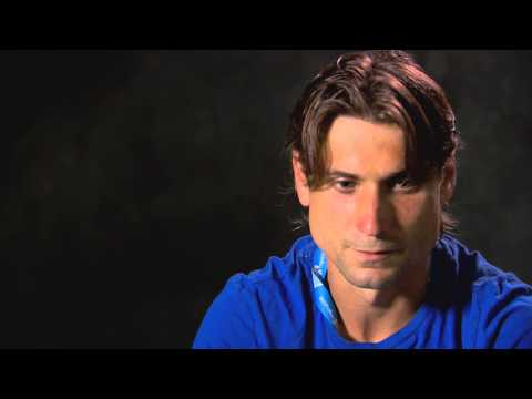 David Ferrer interview - 2014 Australian Open