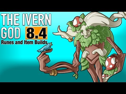 THE IVERN GOD - BEST IVERN RUNES AND ITEM BUILD GUIDE PATCH 8.4 (League of Legends)