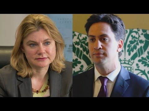 Christian Aid Week 2014: Justine Greening & Ed Miliband's thanks