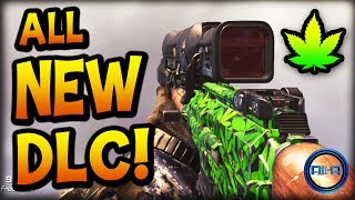 """""""WEED CAMO & MORE!"""" - Call of Duty: Ghosts - (NEW DLC COD GHOST)"""