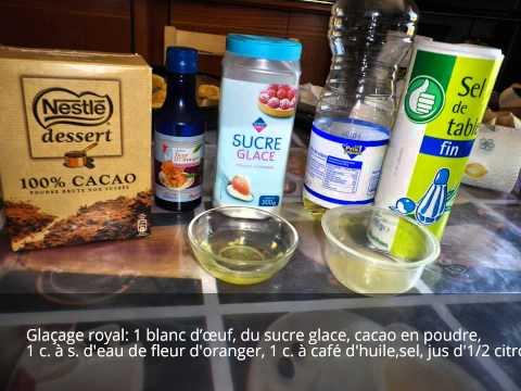 {Gâteaux} #2,Gâteau algerien, Mkabez à la noix de coco