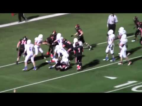 Highlights - Graham Steers vs Gilmer Buckeyes - Dec 14, 2012