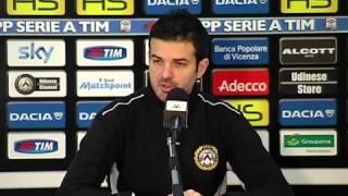 Udinese, Stramaccioni: 'Cerchiamo punti salvezza'