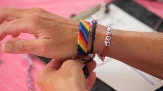 How To Make A Candy Stripe Bracelet Bracelet Patterns