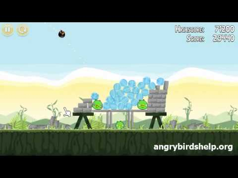 Angry Birds Level 2-11 - 3 Star Walkthrough