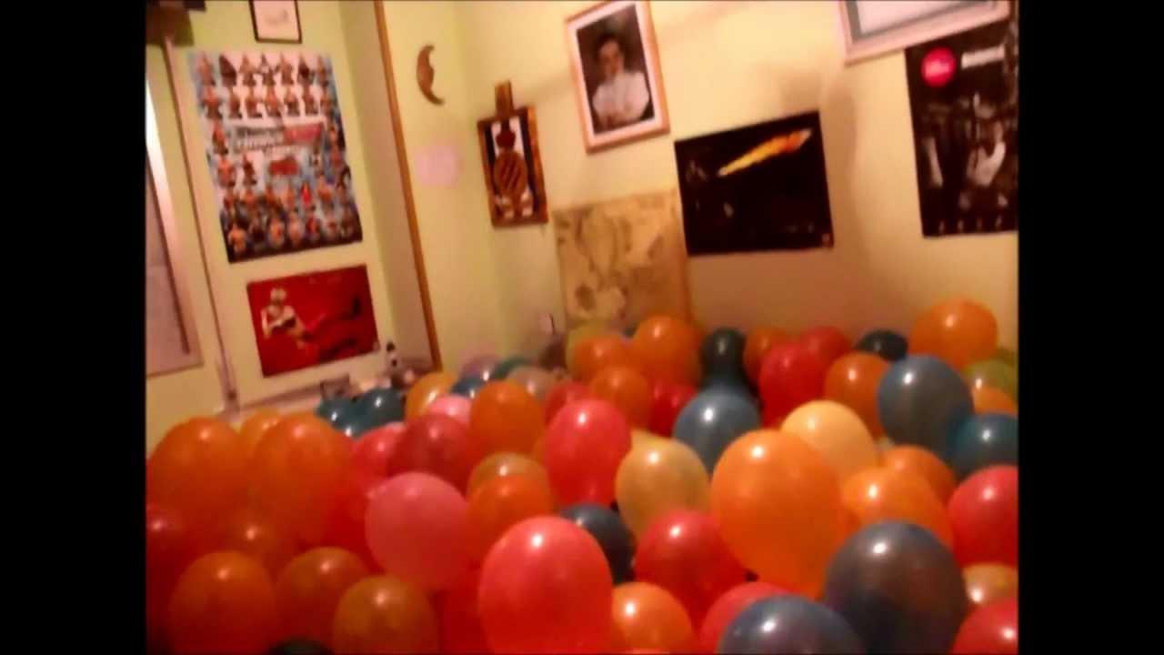 Sorpresa de cumplea os de julen youtube for Cuarto adornado para cumpleanos