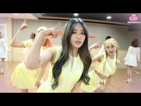 AOA CREAM - 질투 나요 BABY (I'm Jelly BABY) Dance Practice (Eye Contact ver.), AOA CREAM unit debut single 'I'm Jelly Baby' dance practice, eye contact version