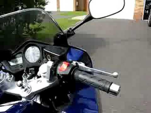 Honda VFR 800 VTEC With Devil Exhaust Superb Sound