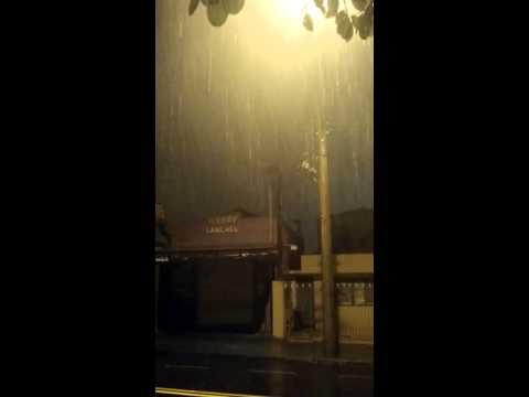 Vídeo Avenida Sallum: chuva assustou moradores