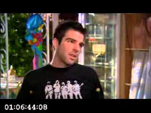 Heroes Interview   Zachary Quinto
