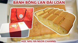 Ăn thử BÁNH BÔNG LAN ĐÀI LOAN Chesse Cake Le Castella | Ẩm Thực Đường Phố - Vietnamese Street Food